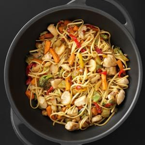 Sizzling Chicken Lo Mein Recipe