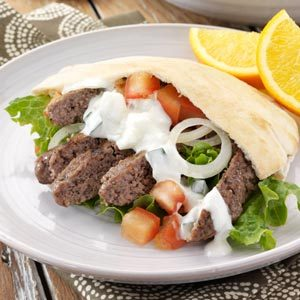 Ground Beef Gyros Recipe