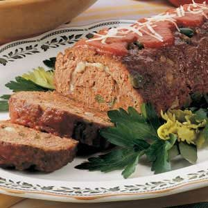Italian Meat Loaf Recipe