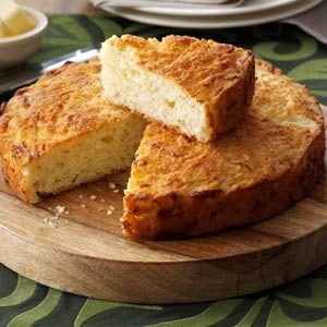 Round Cheese Bread Recipe