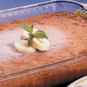 Banana and Nut Cake