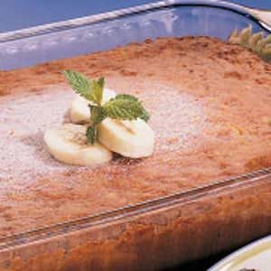 Banana and Nut Cake Recipe