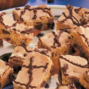 Chocolate Chip Cake Bars Recipe
