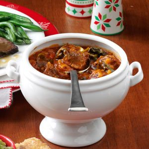 Spinach Beef Stew Recipe