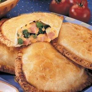 Broccoli Ham Turnovers Recipe