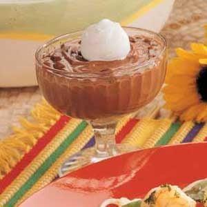 Peanutty Chocolate Pudding Recipe