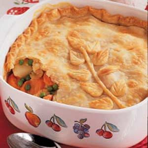 Chicken Vegetable Potpie Recipe photo by Taste of Home