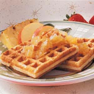 Hawaiian Waffles Recipe