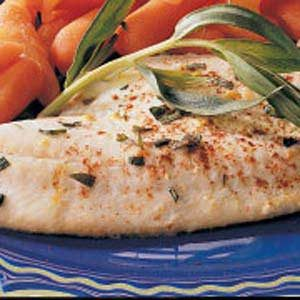 Tender Flounder Fillets Recipe