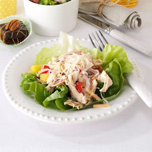 Italian Chicken Salad Cups Recipe