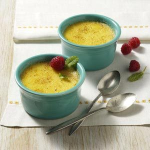 Sweet Corn Creme Brulee Recipe