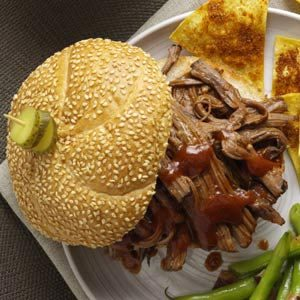 Pulled Brisket Sandwiches
