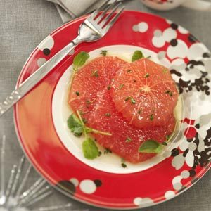 Grapefruit in Honey-Thyme Sauce Recipe
