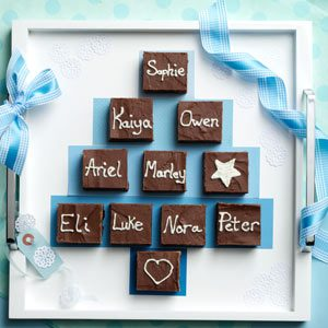 Family Tree Fudgy Brownies Recipe