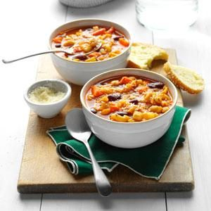Contest-Winning Easy Minestrone Recipe