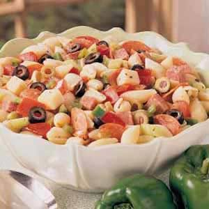 Marinated Italian Pasta Salad