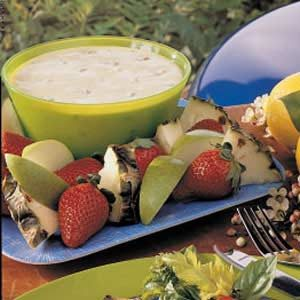 Orange-Pecan Fruit Dip Recipe