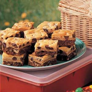 Layered Brownie Cookies Recipe
