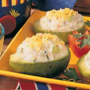 Baked Seafood Avocados Recipe