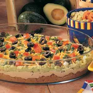 Avocado Taco Dip Recipe