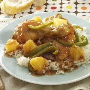 Pineapple Pepper Chicken Recipe