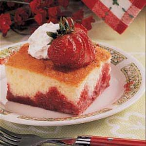 Upside-Down Strawberry Shortcake Recipe