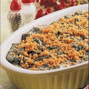 Creamy Spinach Bake Recipe