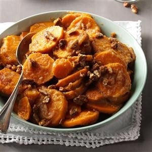 Applesauce Sweet Potatoes Recipe