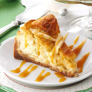 Apple Cobbler Cheesecake Recipe