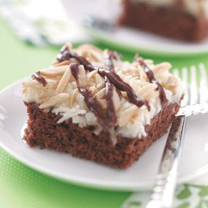 Best Coconut Chocolate Cake Recipe