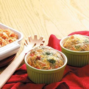 Broccoli Bacon Quiche Cups Recipe