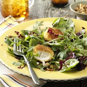Honey Pecan & Goat Cheese Salad Recipe