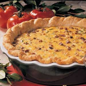 Roast Beef Quiche Recipe