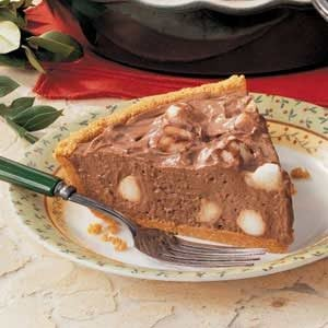 Chocolate Mallow Pie