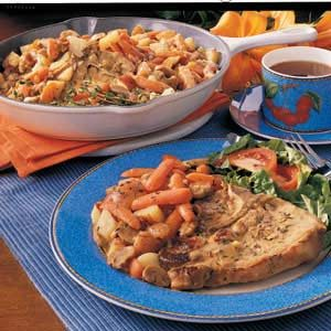 Country Pork Chop Dinner Recipe