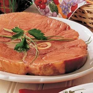 Sweet Ham Steak Recipe