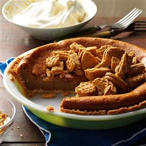 Old-Fashioned Peanut Butter Pie Recipe