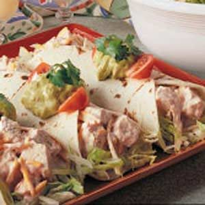Chicken Cheddar Wraps Recipe