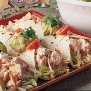 Chicken Cheddar Wraps Recipe
