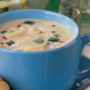 Zippy Corn Chowder Recipe