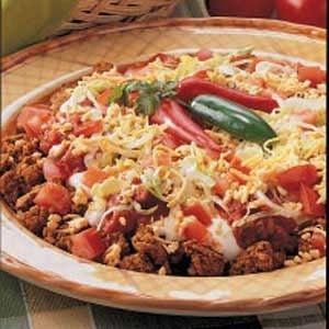 Turkey Taco Dip Recipe