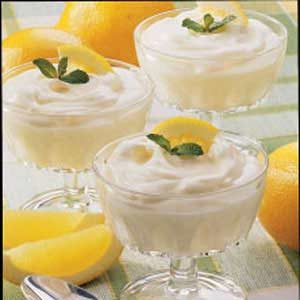 Fast Light Lemon Mousse Recipe