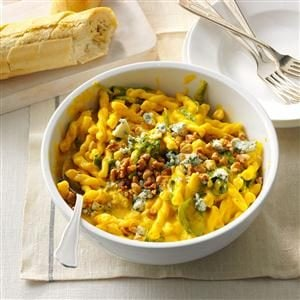 Winter Squash & Blue Cheese Pasta