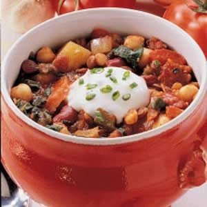 Vegetable Lentil Stew Recipe