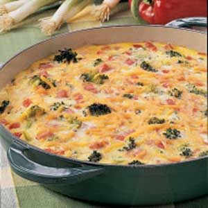 Open-Faced Omelet Recipe