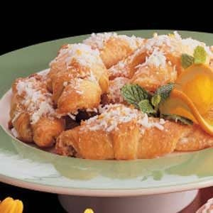 Orange Coconut Crescents Recipe