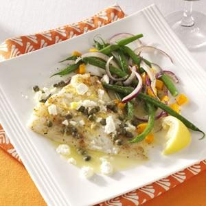 Lemon-Caper Baked Cod Recipe