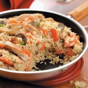 Chicken Carrot Pilaf Recipe