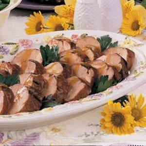 Tangy Pork Tenderloin Recipe