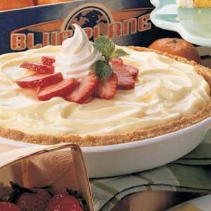 Strawberry Cheesecake Pie Recipe